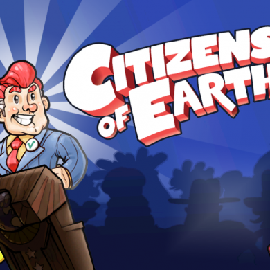 Kickstarter: In Citizens of Earth you get to be a useless clown, eh...Vice President. photo